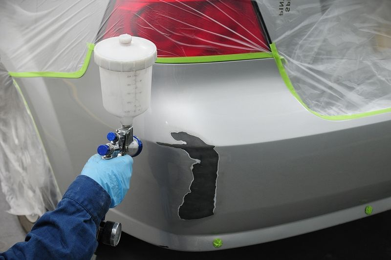 Покраска сколов на автомобиле своими руками 92