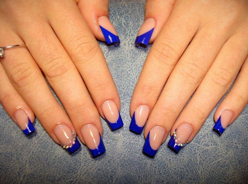Красивые дизайн нарощенных ногтей