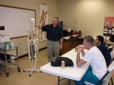 Как и где пойти на курсы обучения массажистов