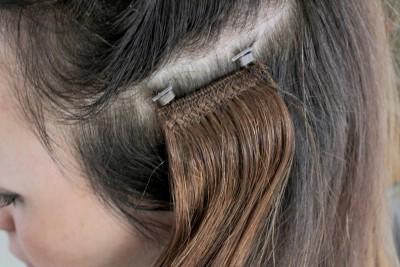 Обучение наращиваю волос